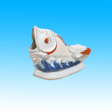 fantastic ceramic fish ornament