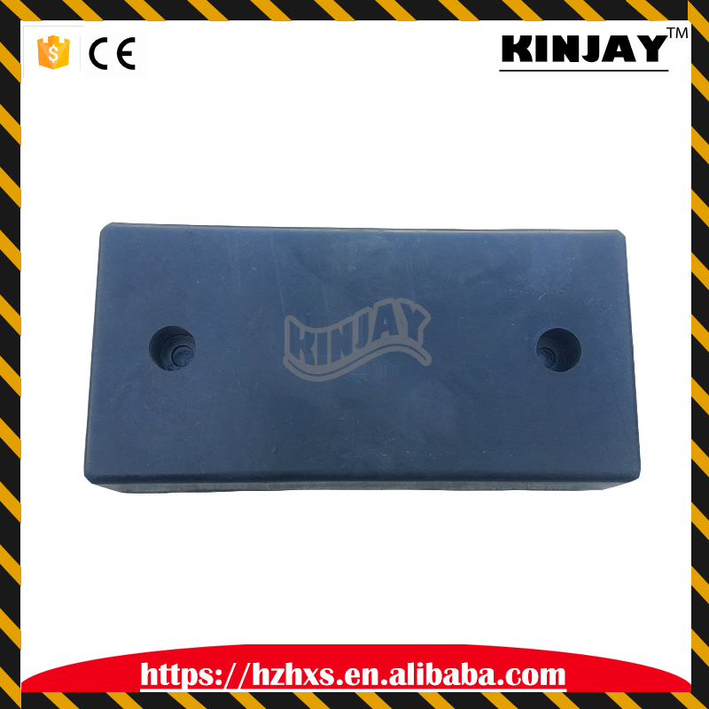 250 * 500 * 90mm high quality traffic safety black crash block