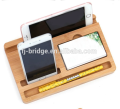 bamboo desktop organizer / storage tray for office