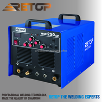 Automatic display mosfet welder wse 250 TIG welder equipment