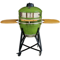 Outdoor Cooking Stove 21inch Grill Oven Ceramic Pizza Stone