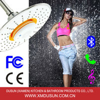 Xiamen Dusun Wireless Bluetooth Shower speaker plastic shower wall panels