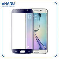 Hot selling perfect fit for samsung S6 edge full cover screen protector