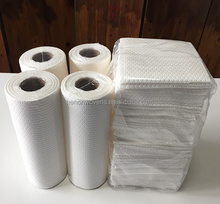 Mini roll/Perforated roll plain cellulose/PP spunlace nonwoven for industrial wipes