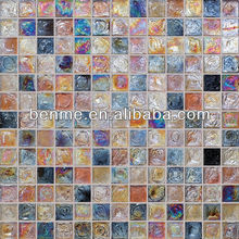 China foshan mosaic interior wall mosaic of colored sand