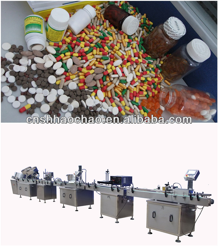 HC--Automatic Counting Production Line/capsule /tablet counting machine