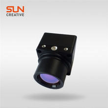 mini size night vision thermal image camera with uncooled amorphous silicon FPA CCTV camera