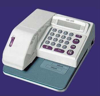 cheque printer with Mirco-computer controlling GR-28B