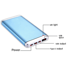 QC 3.0 Power Bank pcb,portable Type-c Power Bank for laptop,usb power bank