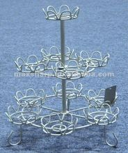 3 tier wire cake decoration