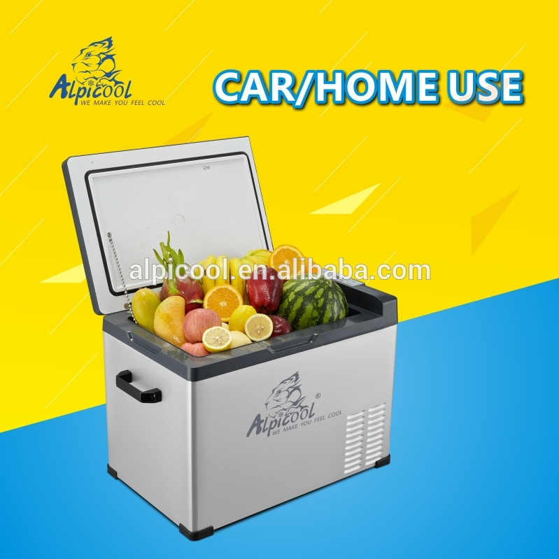 Best Selling Products 2016 Camping Equipment OEM Logo Printed portable fridge for car for solar panel system