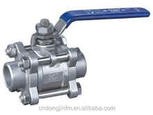 API 150LB 4 inch stainless steel flange 3 pc audco electric actuator ball valve