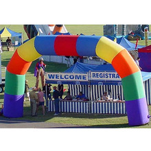 BT-WX 026 Air Tight Inflatable Sport Gate Advertising Arch