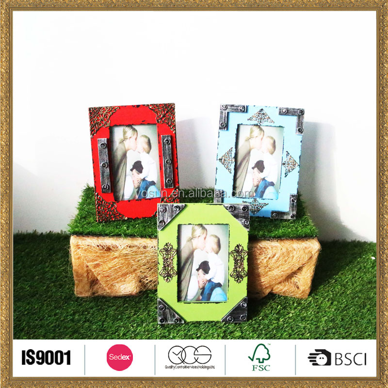 custom made household wood latest design of photo frame