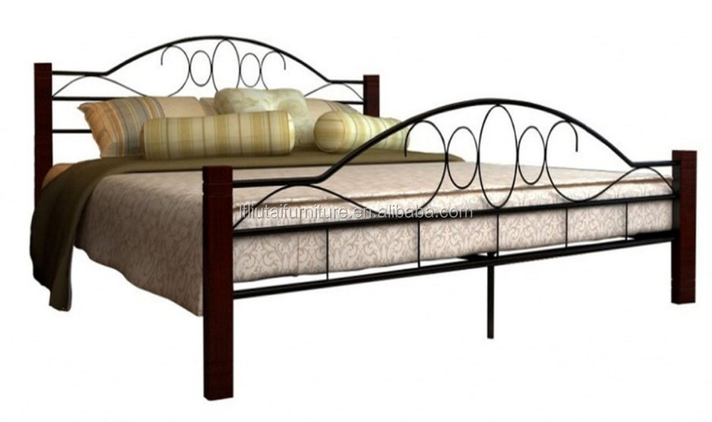 new design metal home furniture for adult, sweet dream metal bed