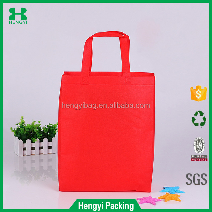 eco-friendly cheap promotional shopping spunbond pp non woven tote bag