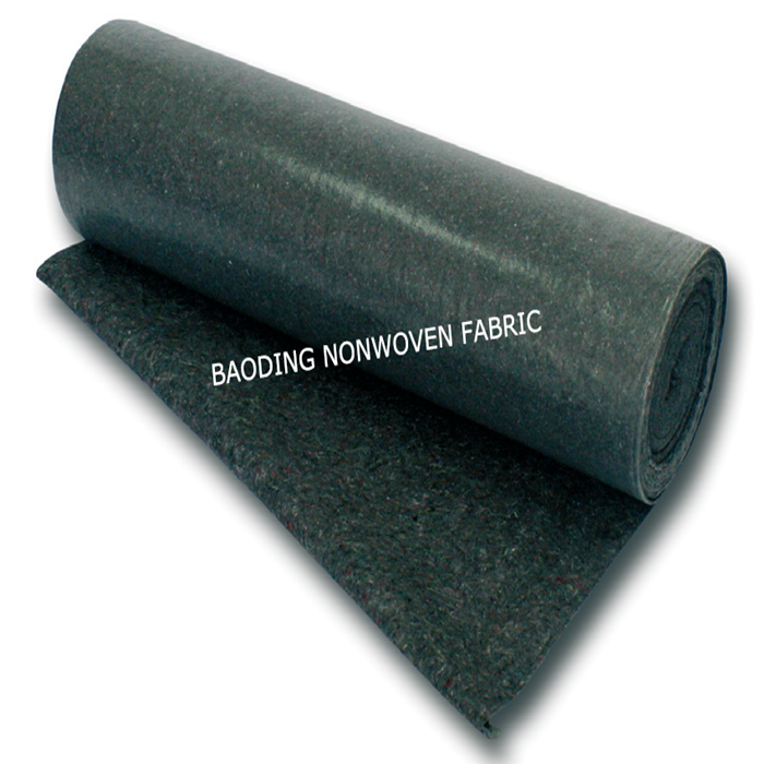 recycled cotton polyester felt fabric / needle punched nonwoven felt for painting house