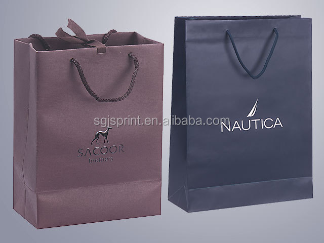 Fancy Paper Luxury Bag For Shopping
