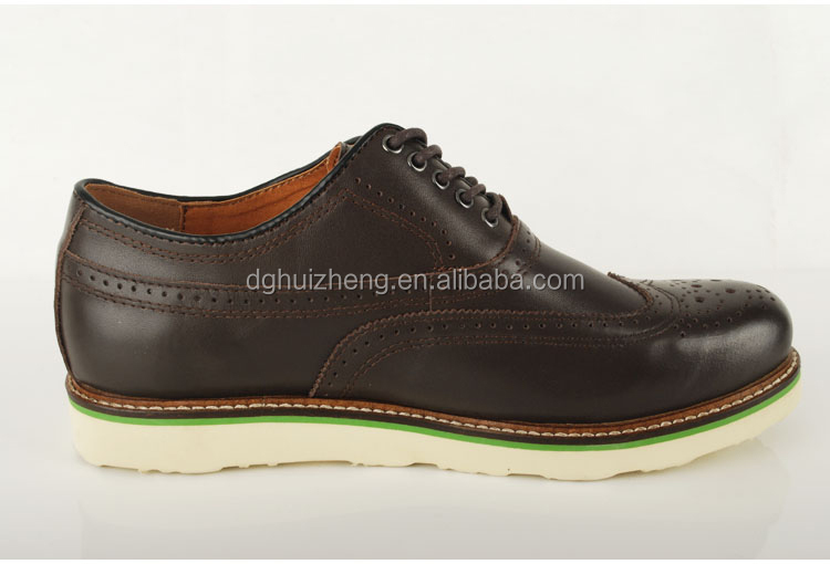 New Mens/Gents Black Lace Up Shoes With Thick Soles New Model Men Shoes Genuine Leather