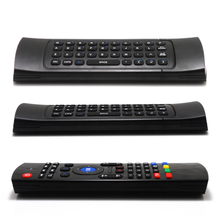 Hot sale 2.4G Remote Control MX3/FM3S Air Mouse Wireless Keyboard + Voice for XBMC Android Mini PC TV Box