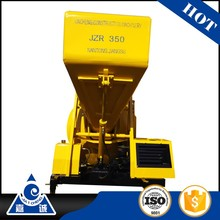 foam concrete mixer JZR350 mobile diesel concrete machine mixer