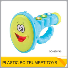 Baby musical play set toy cheap plastic trumpet OC0229710
