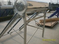 Stainless Steel Non-Pressure Vacuum Tube Solar Water Heater for mauritius
