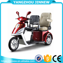 60V 800w electric tricycle with 2 seats for elder and disabled
