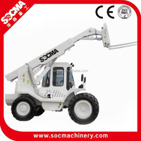 new SOCMA 2.5ton-11ton telescopic crane loader,used diesel telehandler truck for sale