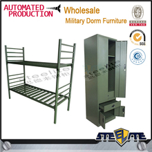 School double bed design furniture kids double deck bed double deck bed