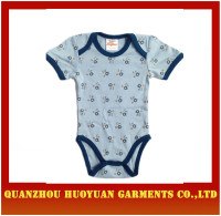 High quality cotton printed Rompers babywear