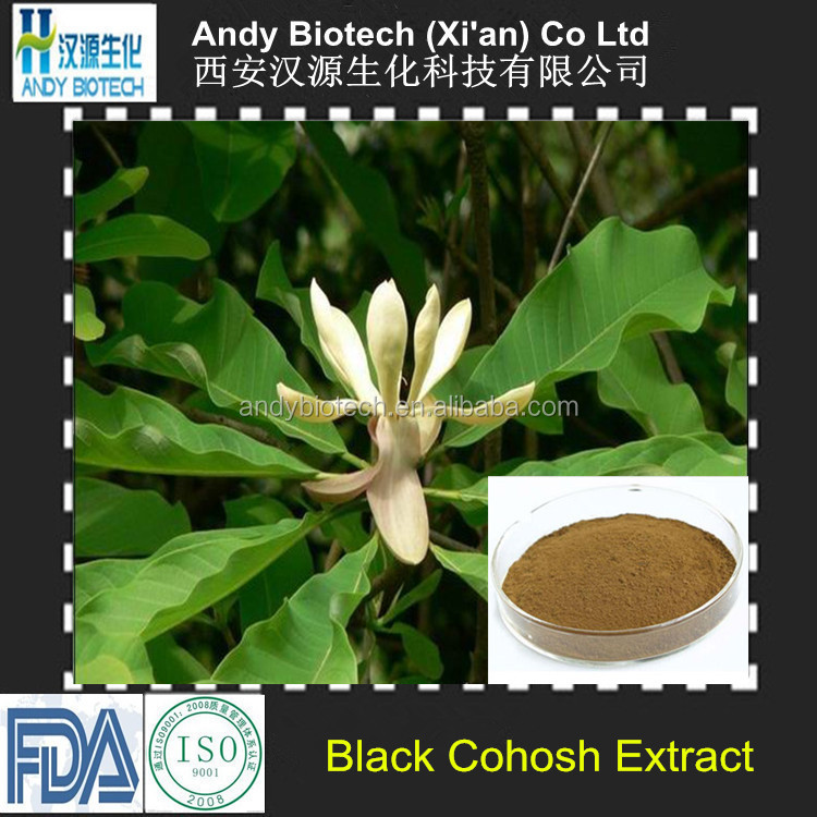Low Price 5:1 Natural Black Cohosh Root Extract Powder