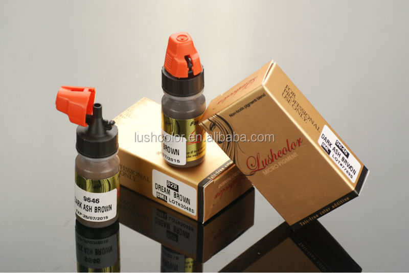 Lushcolor Professional Permanent Makeup Tattoo Pigment