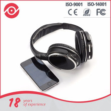 High quality bass earphone & bluetooth headphone with mic and colorful for gift