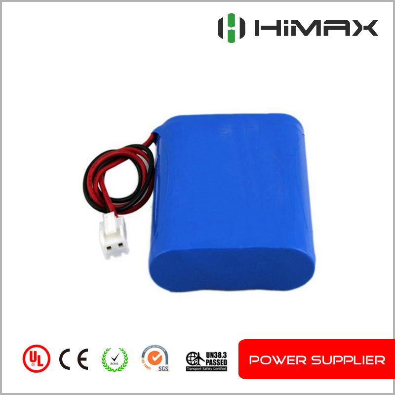 Rechargeable Li-ion 3S1P 18650 10.8v 2200mah Lithium ion battery pack for medical device