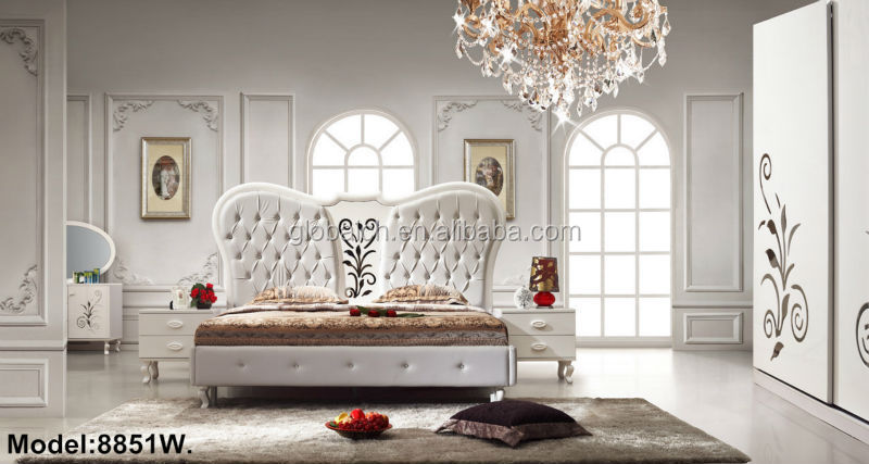 Latest Designs European Style Wooden Bedroom Furniture, bed ...