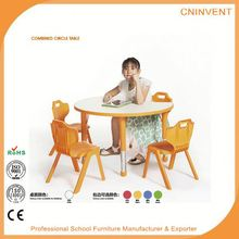 Newest sale superior quality study table with chiar with many colors