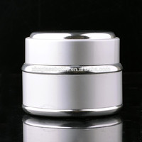 Wholesale 30Ml 50Ml Gold Silver Coated Aluminium Cream Jar For Cosmetic Skin Care