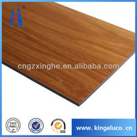 best price wood and marble color aluminium composite panel