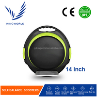Hands free foldable one wheel electric unicycle