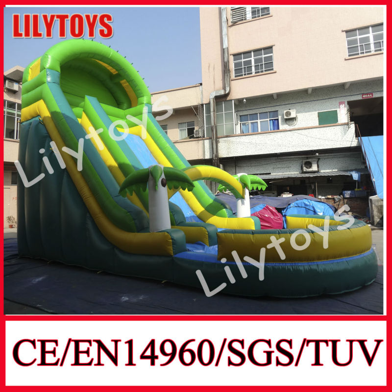 Cheap inflatable water slides for sale