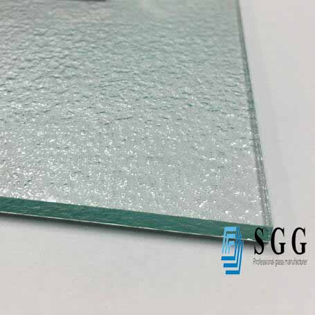 High quality 5mm thickness kasumi figured glass for shower room