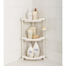 3 Shelf Shower Organizer Caddie Plastic Corner Shower Caddy
