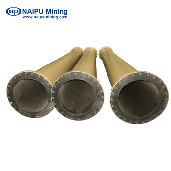 Mineral Transfer Pipes with a High Quality Rubber lining