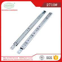 drawer slide rail for furniture accessories 27mm fully extend