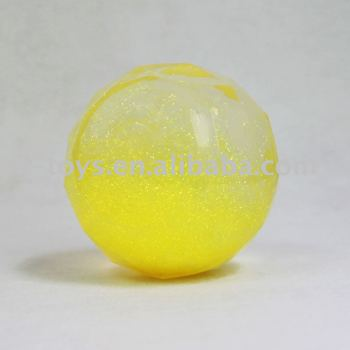 Hotsale Gloden Glitter Water Bouncy Stress Ball Toy