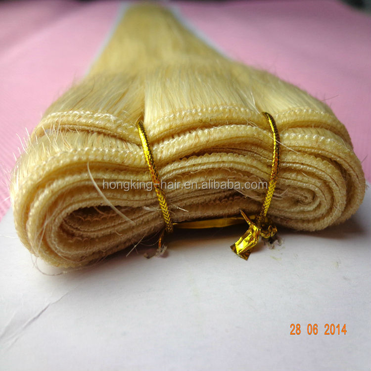wholessale price good quality remy virgin European weft hair