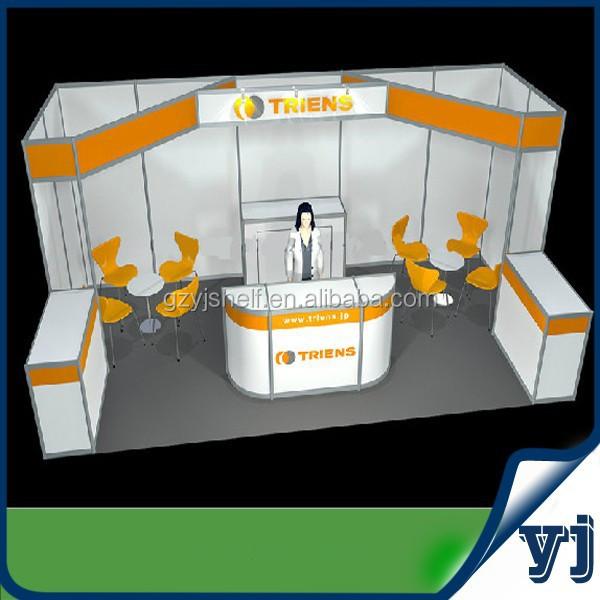 Aluminium Modular Exhibition Stands : Aluminum pipe for modular exhibition booth high quality