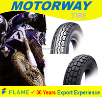 Asian Top Quality Rubber Motorcycle Tire 90/90-18
