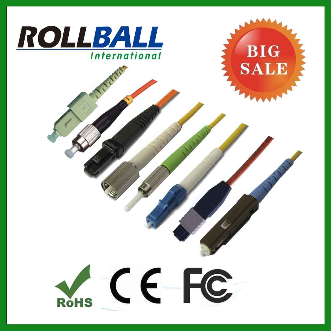 High quality sc/lc/fc/st/mu jumpers/cables fiber optic patch cords
